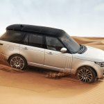 2013 Range Rover off-roading
