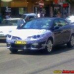 2013 Renault Fluence facelift front spied