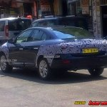2013 Renault Fluence facelift rear spied