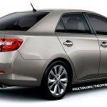 2013 Toyota Corolla rear rendering