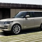 2013 Range Rover leak front right three quarters