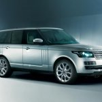 2013 Range Rover leak front left three quarters