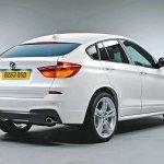 2014 BMW X4 rear