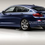 BMW 3 series GT rendering rear three quarters