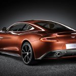 Aston Martin Vanquish rear three quarters