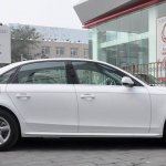 Audi A4L side profile
