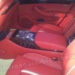 Audi A8L 4.2 TDI rear seat