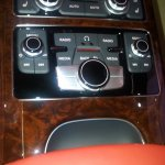 Audi A8L 4.2 TDI controls