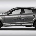 Audi Q6 rendering Theophilus Chin