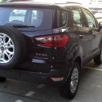Black Ford EcoSport rear
