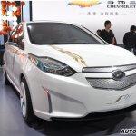 Chevrolet Sail EV Concept front
