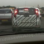 Chevrolet Sail hatch spyshot rear