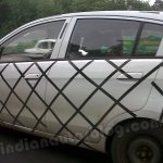 Chevrolet Sail hatchback spyshot side profile