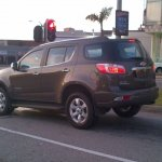 Chevrolet Trailblazer spotted in South Africa
