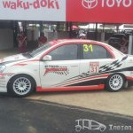 Etios Motor Racing car side