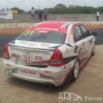 Etios Motor Racing car rear