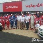 Etios Motor Racing Driver line up