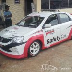 Etios Motor Racing Safety car