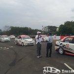 Etios Motor Racing inaugural race