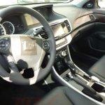 Facelifted Honda Accord interiors