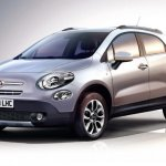 Fiat 500X crossover front