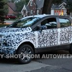 Ford EcoSport prototype spied in the US