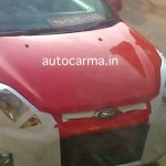 Ford Figo facelift headlight redesign