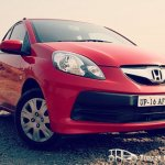 Honda Brio front fascia with effects