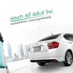 Honda City CNG Thailand