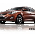 2013 Hyundai Elantra  Hazel brown