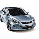 2013 Hyundai Elantra silver