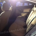 Hyundai Elantra India launch rear seat comfort