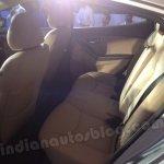 Hyundai Elantra India launch rear seat comfort