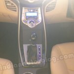 Hyundai Elantra India launch shifter and stereo controls