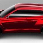 Lamborghini Urus side profile