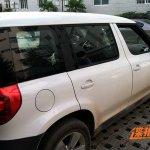 Long wheelbase Skoda Yeti for China