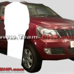 Mahindra Quanto front three-quarters