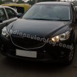Mazda CX-5 test mule India front view