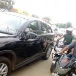 Mazda CX-5 India test mule side profile