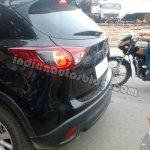 Mazda CX-5 test mule India tail light