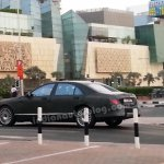 Mercedes W222 testing in Dubai spotted by Nithin Kumar