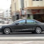 Mercedes W222 testing in Dubai