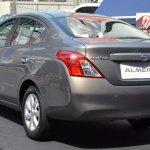 Nissan Almera Malaysia rear three quarters