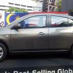 Nissan Almera Malaysia side profile