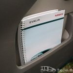 Nissan Evalia news paper holder