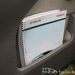 Nissan Evalia news paper holder