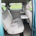 Nissan Evalia second row seats