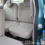 Nissan Evalia rear seats