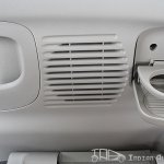 Nissan Evalia rear AC vents