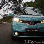 Nissan Evalia front profile
